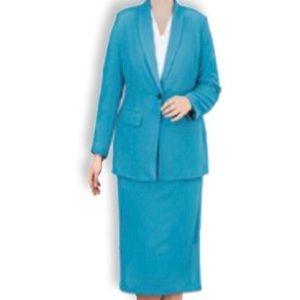 Vintage 80s Women Suit by Quaysport ~ Skirt Suit